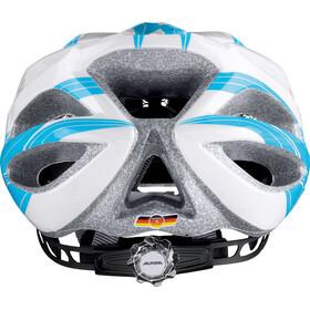 Alpina FB Jr. 2.0 Helmet Youth white-cyan